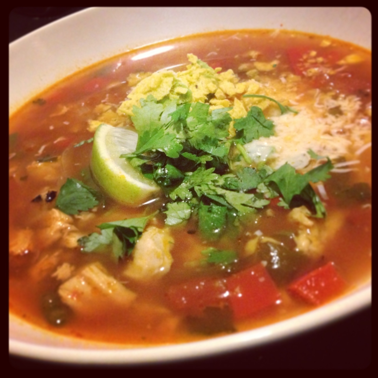 Chicken Tortilla Soup | Clean Plate Club NY